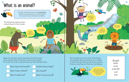 Wipe-Clean Finding Out About Animals 6-7 [3]