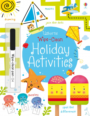 Wipe-clean holiday activities [0]