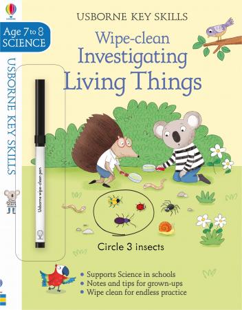 Wipe-Clean Investigating Living Things 7-8 [0]