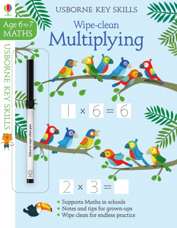 Wipe-clean multiplying 6-7 [0]