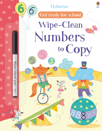 Wipe-clean numbers to copy [0]