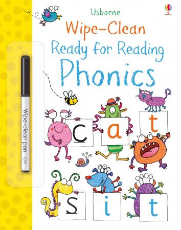 Wipe-clean ready for reading phonics [0]