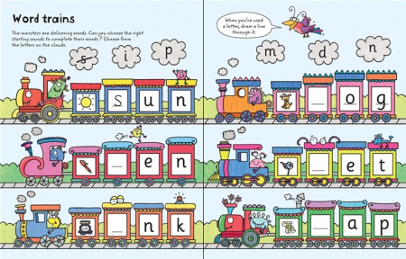 Wipe-clean ready for reading phonics [1]