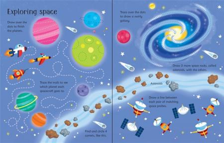 Wipe-clean space activities [1]
