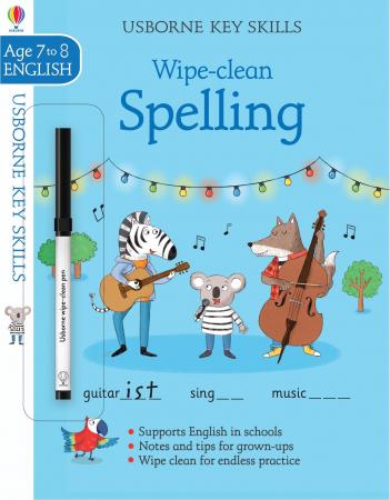 Wipe-clean spelling 7-8 [0]