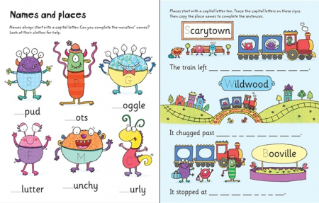 Wipe-clean starting grammar and punctuation [1]