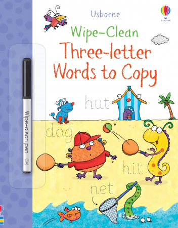 Wipe-Clean Three-Letter Words to Copy [0]