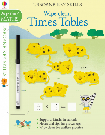 Wipe-clean times tables 6-7 [0]