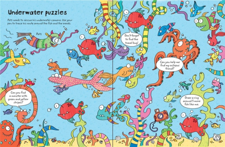 Wipe-clean travel puzzles [2]
