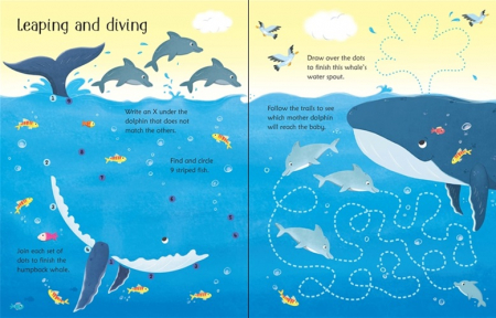 Wipe-clean under the sea activities [2]