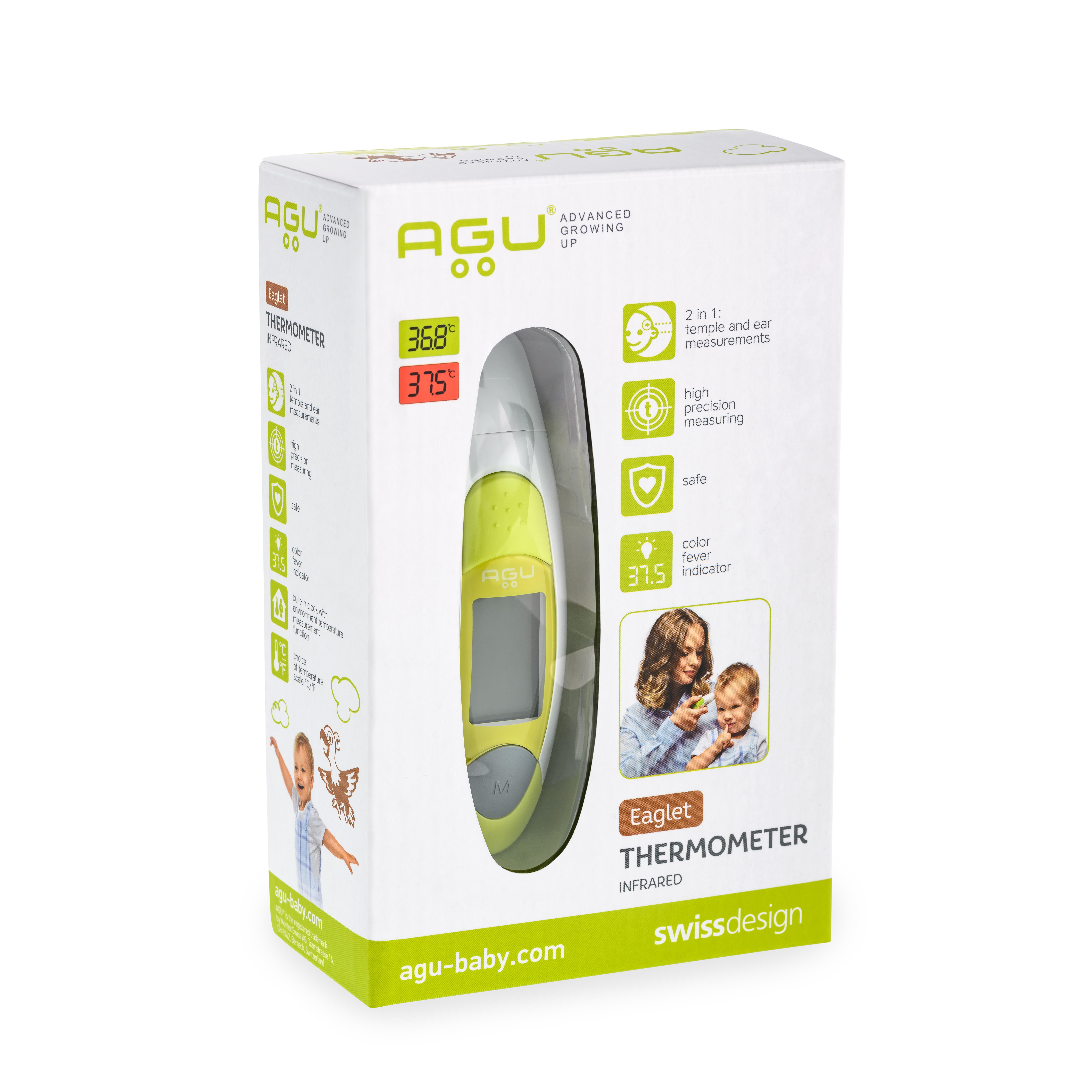 Termometru cu infrarosu pentru copii Eaglet, AGU 8