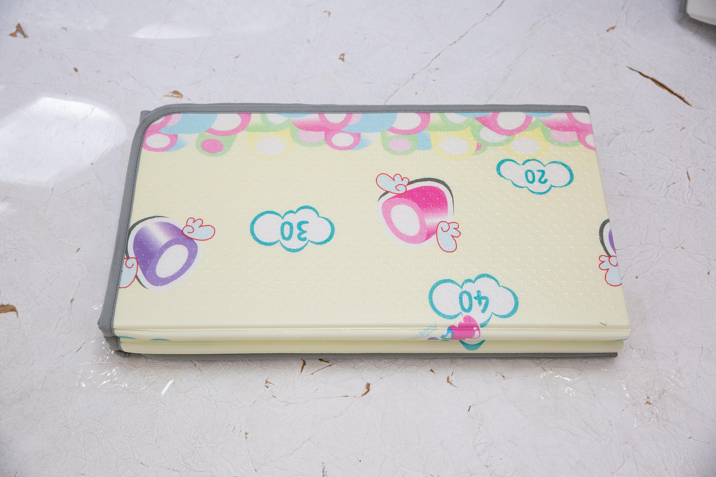 Saltea Sobble Marshmallow Dream, pliabila, 1.4m, 100% sigura, eco-friendly, Multicolor 3