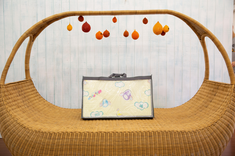 Saltea Sobble Marshmallow Dream, pliabila, 1.4m, 100% sigura, eco-friendly, Multicolor 4