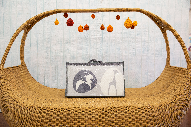 Saltea Sobble Black and White Animals, pliabila, 1.4m, 100% sigura, eco-friendly, Gri/Alb 4
