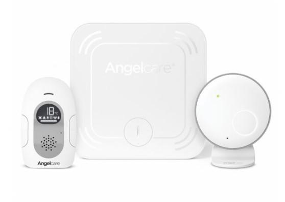 Interfon si Monitor de miscare cu 2 placi de detectie wireless Angelcare AC127 0