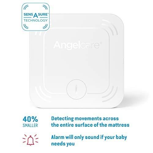 Interfon si Monitor de miscare cu 2 placi de detectie wireless Angelcare AC127 1