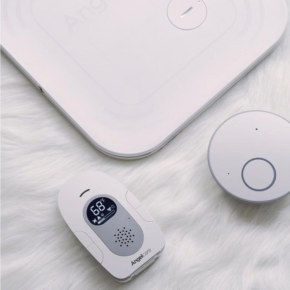 Interfon si Monitor de miscare cu 2 placi de detectie wireless Angelcare AC127 6