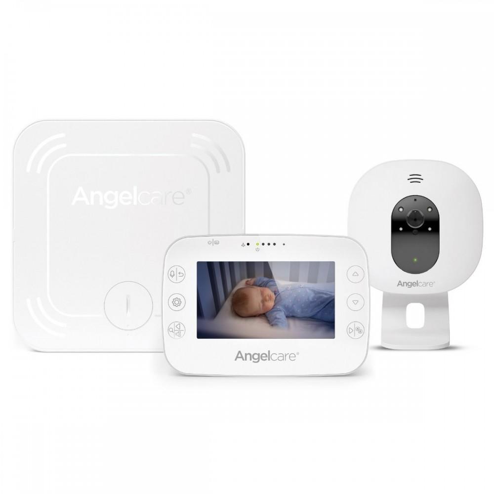 Videofon si Monitor de miscare cu placa de detectie wireless Angelcare AC327 0