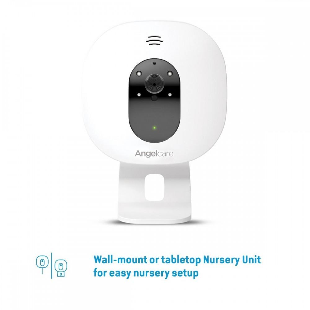 Videofon si Monitor de miscare cu placa de detectie wireless Angelcare AC327 1