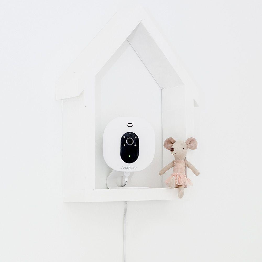 Videofon si Monitor de miscare cu placa de detectie wireless Angelcare AC327 6