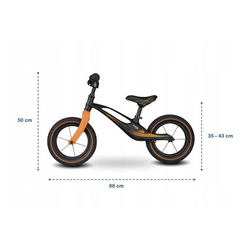 Bicicleta cu roti gonflabile fara pedale Bart - Lionelo [1]