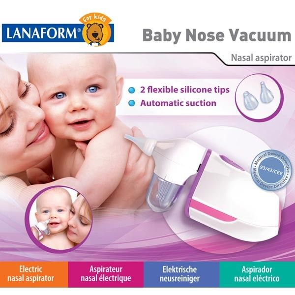 Aspirator nazal Baby Nose Vacuum 2014 Lanaform 1