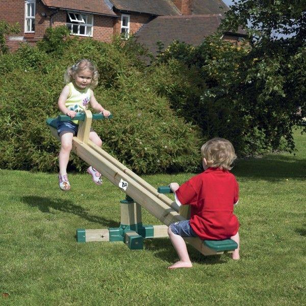 Balansoar rotativ din lemn Forest Seesaw - TP Toys 0