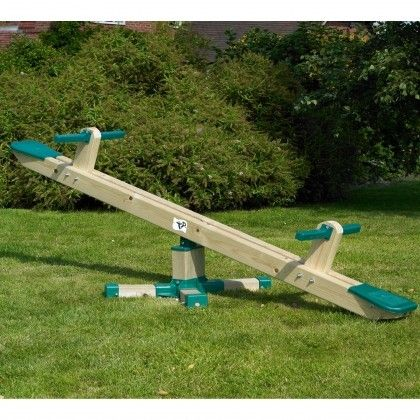 Balansoar rotativ din lemn Forest Seesaw - TP Toys 1