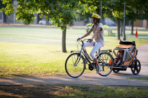 Bellelli B-Travel remorca de bicicleta pana la 32kg - Red [8]