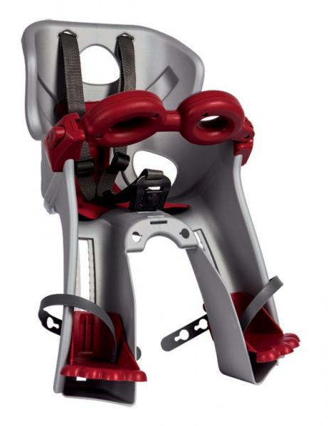 Bellelli Freccia B-Fix scaun bicicleta pentru copii pana la 15kg - Silver [0]