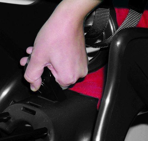 Bellelli Little Duck Standard Multifix scaun bicicleta pentru copii pana la 22kg - Dark Grey [5]