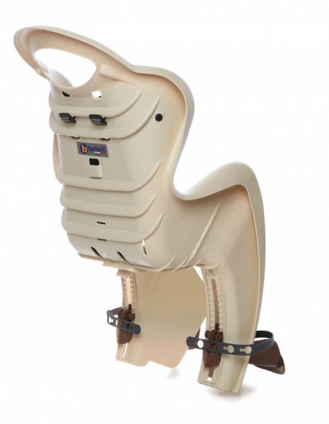 Bellelli Mr Fox Standard B-Fix scaun bicicleta pentru copii pana la 22kg - Silver [2]