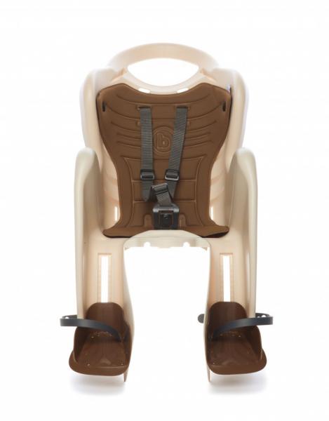 Bellelli Mr Fox Standard B-Fix scaun bicicleta pentru copii pana la 22kg - Silver [1]