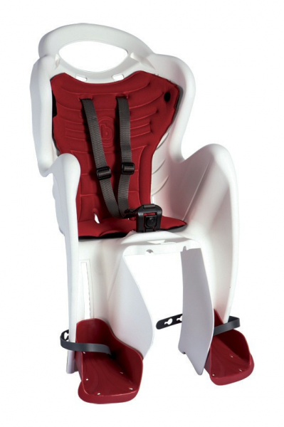 Bellelli Mr Fox Standard B-Fix scaun bicicleta pentru copii pana la 22kg - White [0]