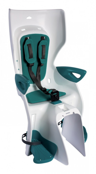 Bellelli Summer Standard B-Fix scaun bicicleta pentru copii pana la 22kg - White Turquoise [0]