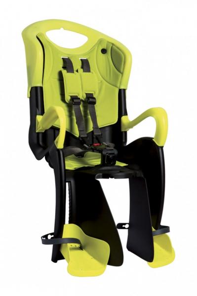 Bellelli Tiger Standard B-Fix scaun bicicleta pentru copii pana la 22kg - Yellow Hi-Viz [0]