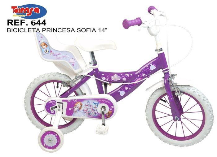 Bicicleta 14 Sofia the First 0