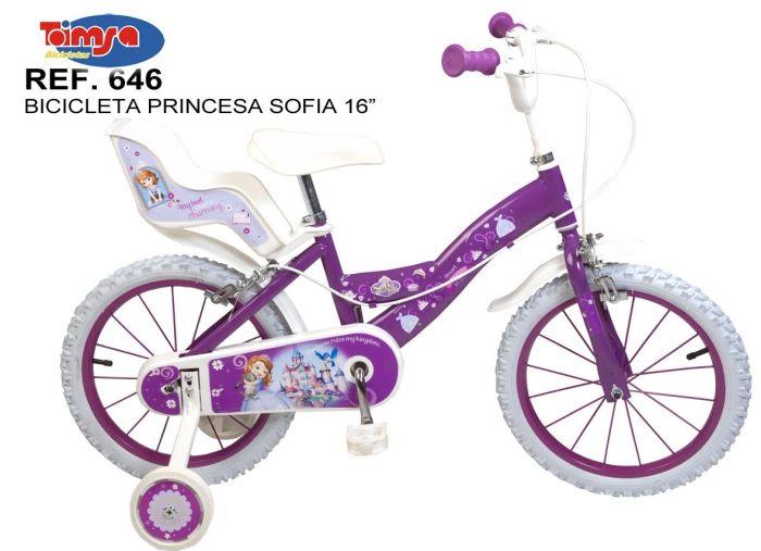 Bicicleta 16 Sofia the First [0]