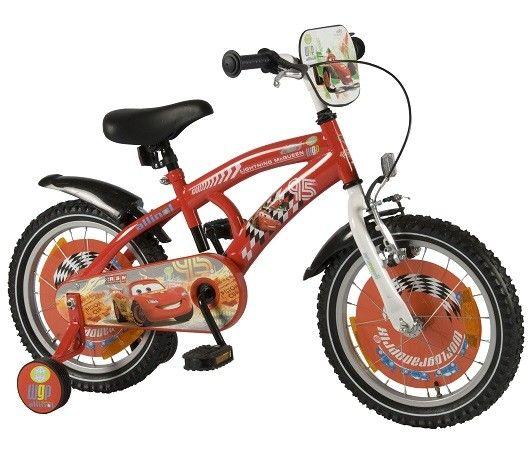 Bicicleta E&L Disney Cars 16''