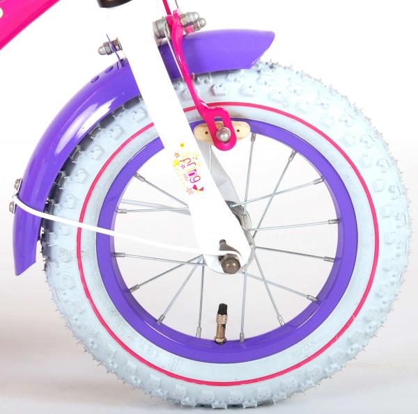 Bicicleta E&L Minnie Mouse 12 inch cu portbagaj [3]