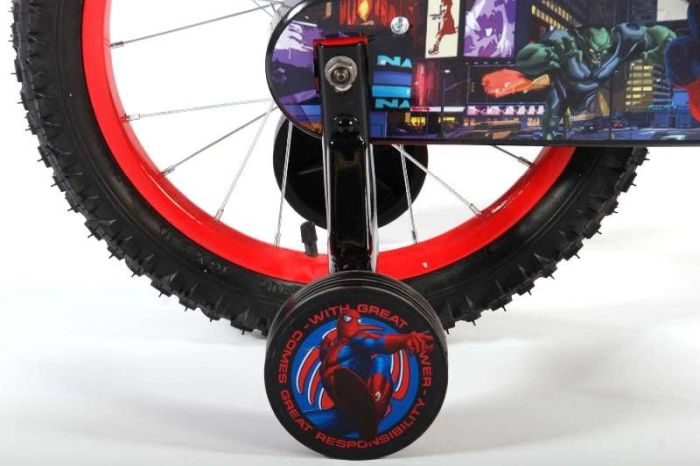 Bicicleta E&L Spiderman 16''