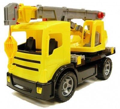 Camion cu macara Gigant plastic 70cm [0]