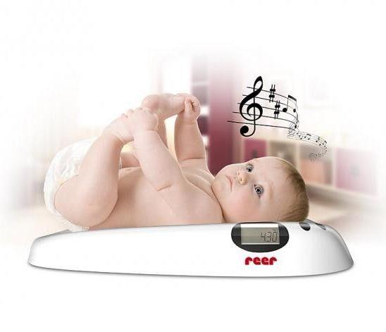Cantar digital cu muzica pentru bebelusi REER 6409 0