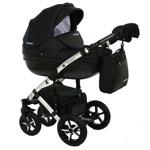 Carucior 3 in 1 Poema Black Ed. Limitata - Krausman 0