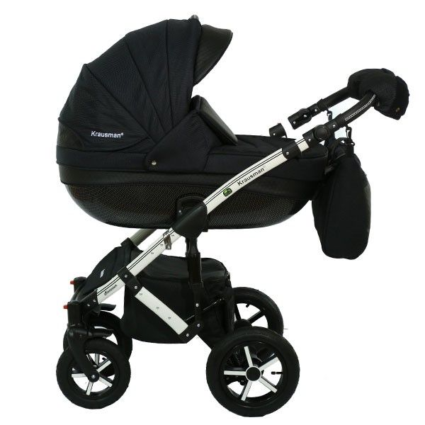 Carucior 3 in 1 Poema Black Ed. Limitata - Krausman 1