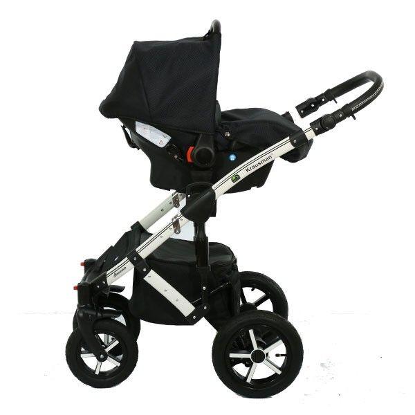 Carucior 3 in 1 Poema Black Ed. Limitata - Krausman 3