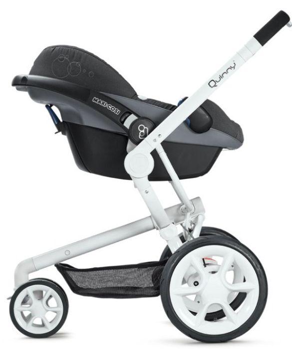 Carucior copii Moodd Quinny cu scaun auto Pebble Plus Maxi Cosi 3