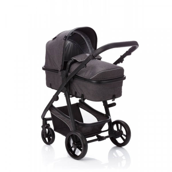 Carucior Panther transformabil 3 in 1 grey melange Fillikid