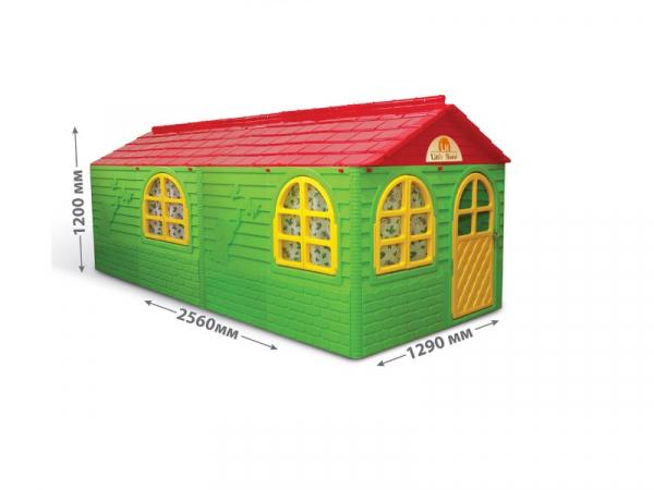 Casuta de joaca MyKids 02550/23 Green/Red - Big [0]