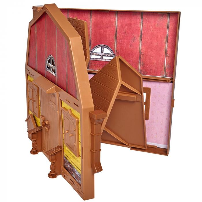 Casuta pliabila cu 2 nivele pentru papusi Simba Masha and The Bear cu papusa Masha si accesorii [3]